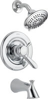 LAHARA MONITOR 17 SERIES TUB AND SHOWER TRIM, Chrome, medium