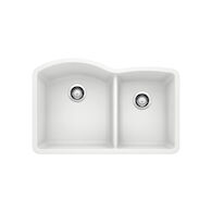 DIAMOND UNDERMOUNT 1.75 KITCHEN SINK, White, medium