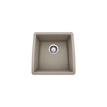 PERFORMA UNDERMOUNT BAR SINK, Truffle, large