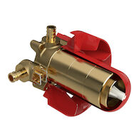 1/2-INCH 2-WAY TYPE T/P (THERMOSTATIC/PRESSURE BALANCE) COAXIAL VALVE ROUGH WITH PEX, , medium
